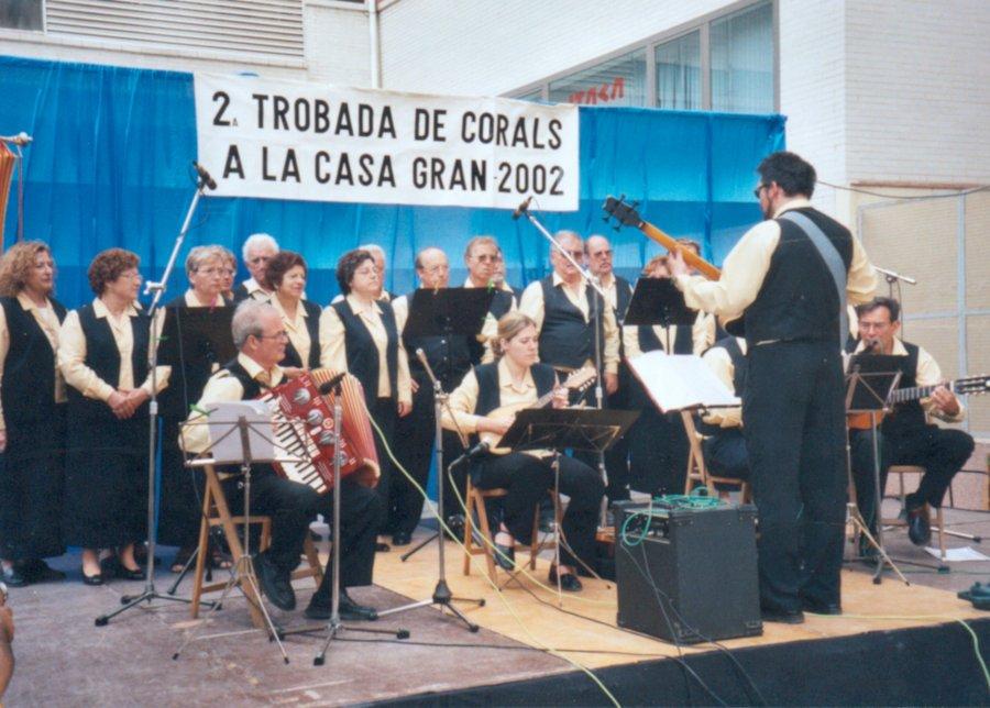 WEB del Grup Folk Montjuic - Història